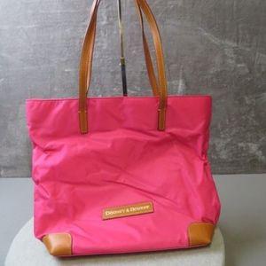 Authentic Dooney & Bourke Pink Everyday Nylon Tote